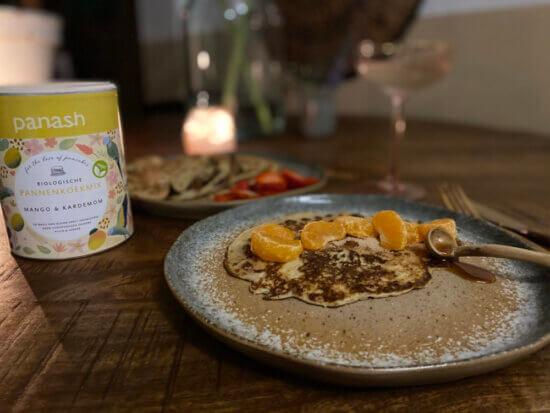 Pannenkoek met manderijn